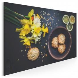 Ciasteczkowy potwór - fotoobraz do kuchni - 120x80 cm