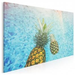 Ananasowa kąpiel - fotoobraz do kuchni - 120x80 cm