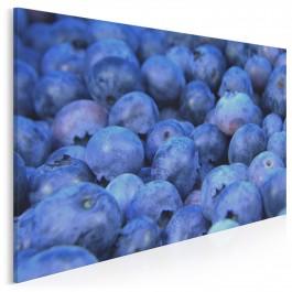 Borówkowe szaleństwo - fotoobraz do kuchni - 120x80 cm