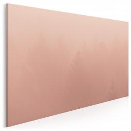 Łuna za mgłą - fotoobraz do salonu - 120x80 cm