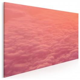 Gonitwa chmur - fotoobraz do sypialni