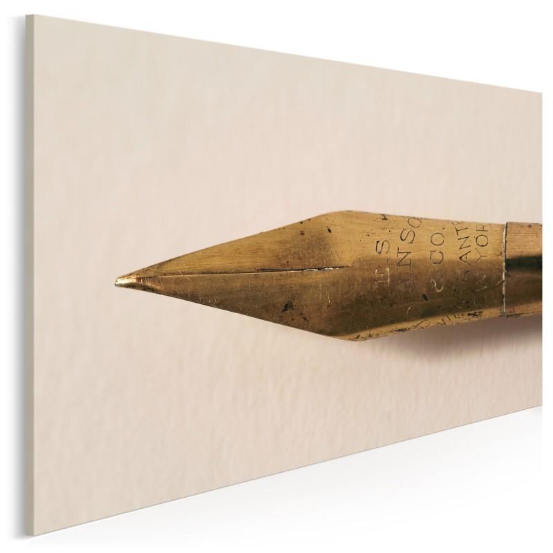 Wieczne pióro - fotografia na płótnie - 120x80 cm
