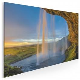 Wodny płaszcz - fotoobraz na płótnie - 120x80 cm