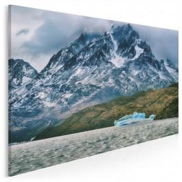 Lodowa saga - fotografia na płótnie - 120x80 cm