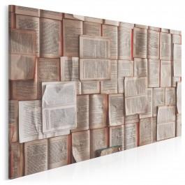 Karty historii - fotoobraz do salonu - 120x80 cm