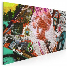Kobieta zagadka - zdjęcie na płótnie - 120x80 cm