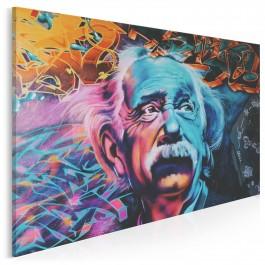 Pan Einstein - zdjęcie na płótnie - 120x80 cm