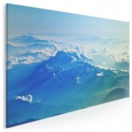 Szlakiem chmur - fotografia na płótnie