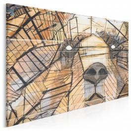 Niedźwiedź trojański - fotoobraz na płótnie - 120x80 cm