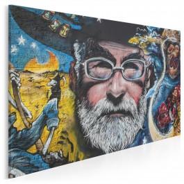Pan Pratchett - fotoobraz na płótnie