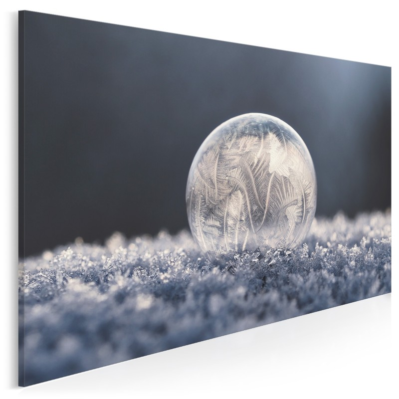 W krainie lodu - fotografia na płótnie - 120x80 cm