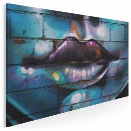 Mur milczenia - fotoobraz na płótnie - 120x80 cm