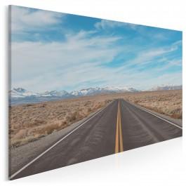Szlakiem Route 66 - fotoobraz do salonu - 120x80 cm