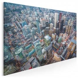 Toronto z lotu ptaka - zdjęcie na płótnie - 120x80 cm