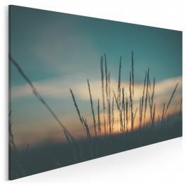Sielska polana - fotoobraz do sypialni - 120x80 cm