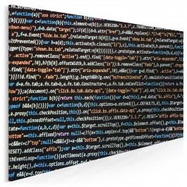 Kod nieskończoności - zdjęcie na płótnie - 120x80 cm
