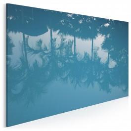 Wakacyjna pocztówka - nowoczesny obraz na płótnie - 120x80 cm