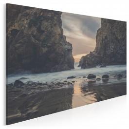 Skalny przesmyk - fotoobraz do salonu - 120x80 cm