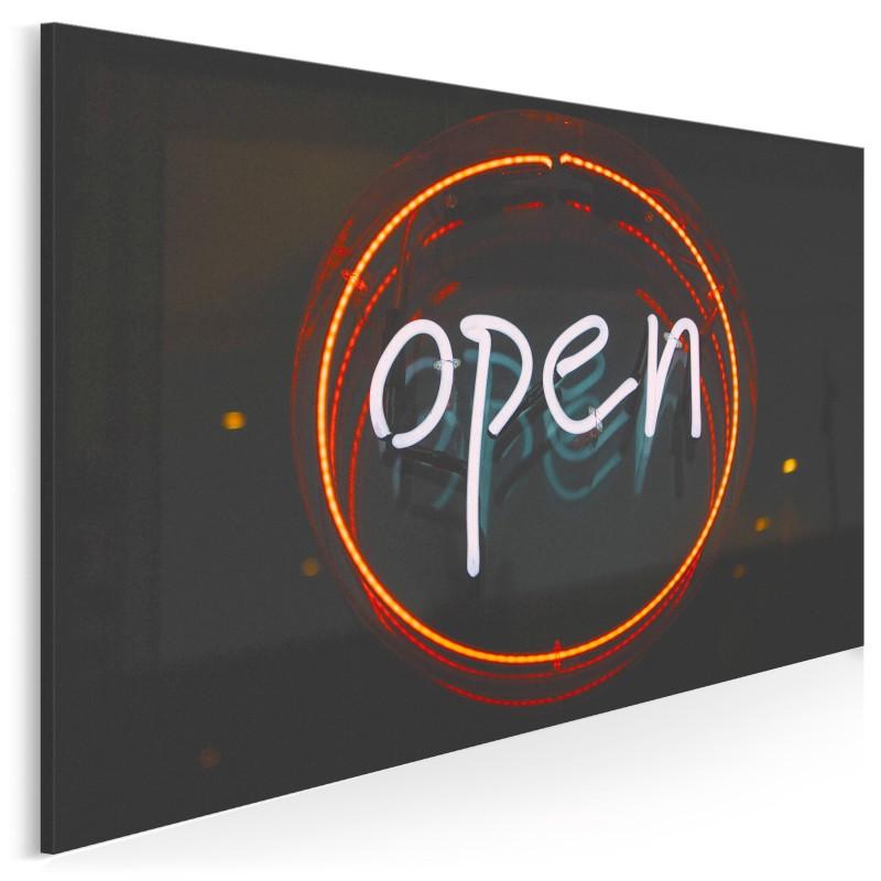 Open - fotoobraz na płótnie - 120x80 cm
