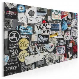 Kodeks dzielnicy - fotoobraz do sypialni - 120x80 cm