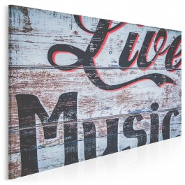 Live music - fotoobraz do salonu - 120x80 cm