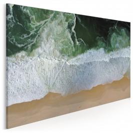 Na fali - nowoczesny obraz na płótnie - 120x80 cm