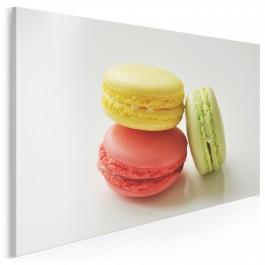 Francuskie makaroniki - fotoobraz do kuchni - 120x80 cm