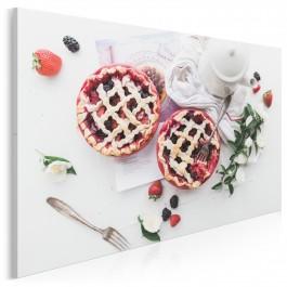 Wykwintny deser - fotoobraz do kuchni - 120x80 cm