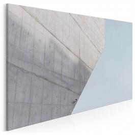 Betonowa dżungla - fotoobraz na płótnie - 120x80 cm