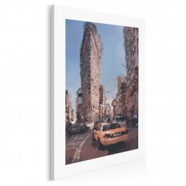 Flatiron w Nowym Jorku - nowoczesny obraz na płótnie