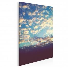Niebo nad Wrocławiem - nowoczesny obraz na płótnie - 50x70 cm
