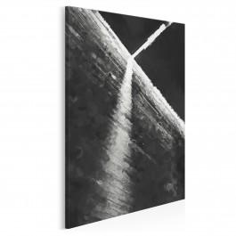 W czerni i bieli - nowoczesny obraz na płótnie