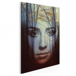 Mroczna strona kobiecości - nowoczesny obraz na płótnie - 50x70 cm