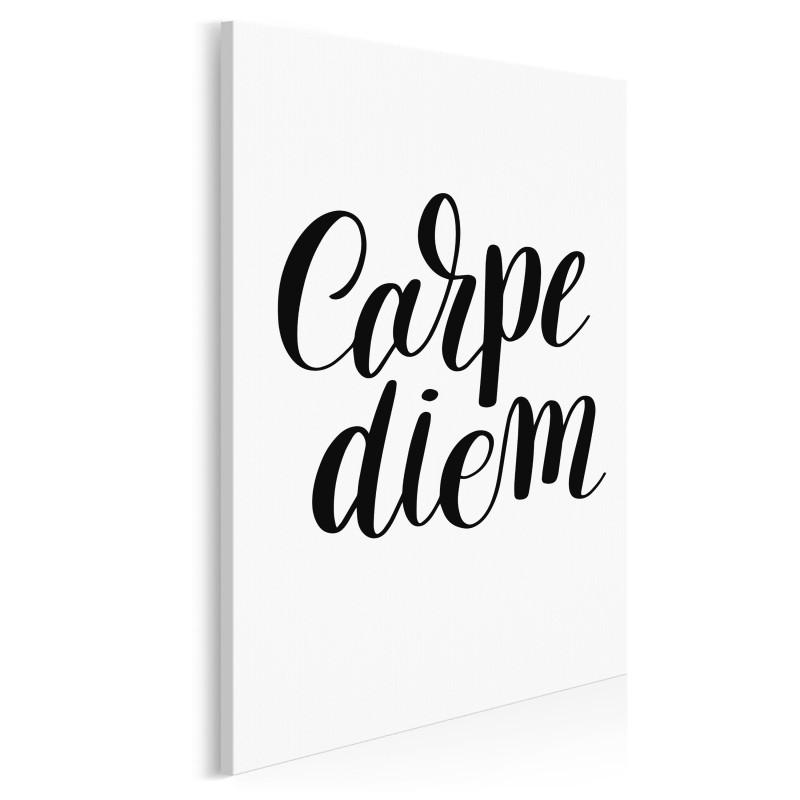 Carpe diem - nowoczesny obraz na płótnie - 50x70 cm