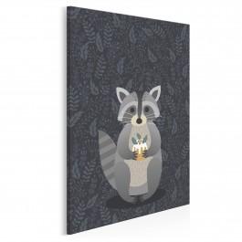 Szop Walerian - nowoczesny obraz na płótnie - 50x70 cm