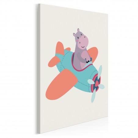 Awiator Filip - nowoczesny obraz na płótnie - 50x70 cm