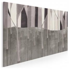 Cieniogród - nowoczesny obraz na płótnie - 120x80 cm