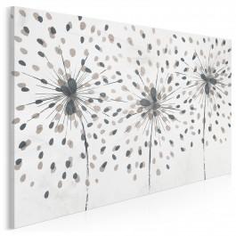 Taniec wiatru - nowoczesny obraz na płótnie - 120x80 cm