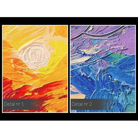 Dzienniki Magellana - nowoczesny obraz na płótnie - 120x80 cm