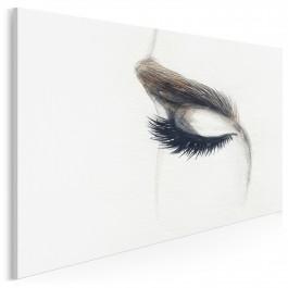Hipnotyczny flirt - nowoczesny obraz na płótnie - 120x80 cm