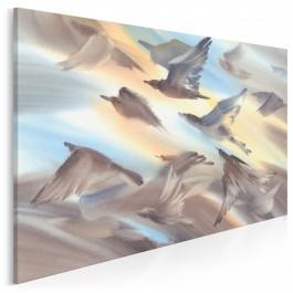 Sztuka latania - nowoczesny obraz do salonu - 120x80 cm