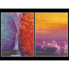 Leśny skansen - nowoczesny obraz na płótnie
