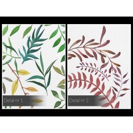 Terra botanica - nowoczesny obraz na płótnie - 120x80 cm