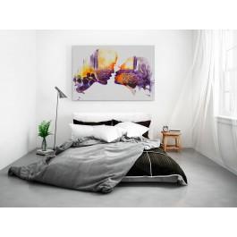 Casablanca - nowoczesny obraz na płótnie - 120x80 cm