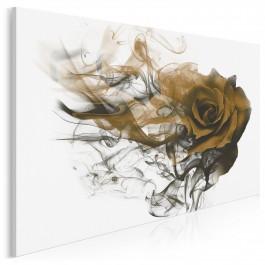 Róża wiatru - nowoczesny obraz do sypialni - 120x80 cm