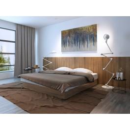 Bajońska fortuna - nowoczesny obraz do sypialni