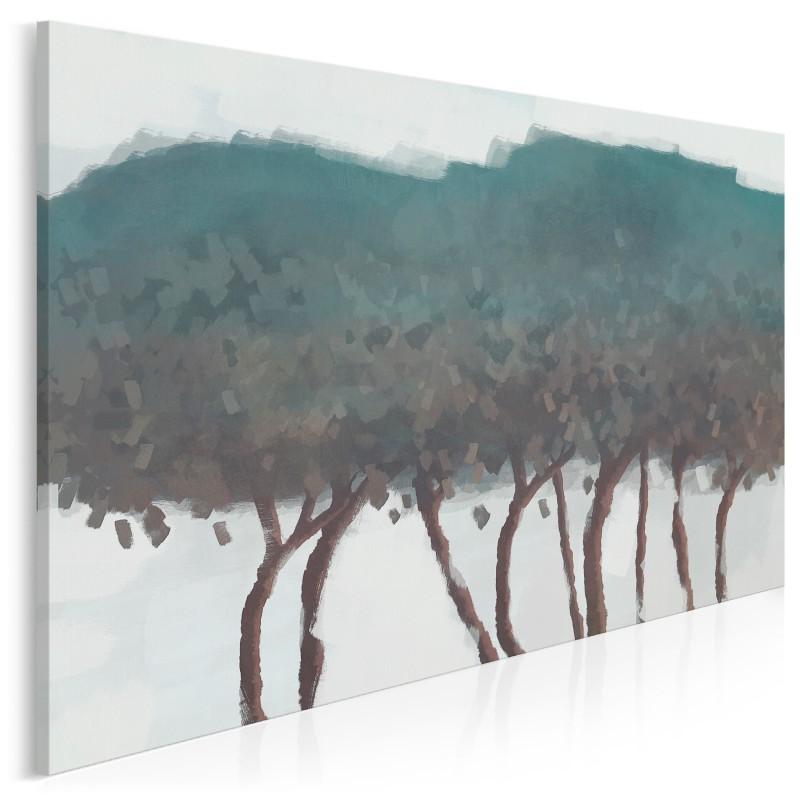Narada drzew - nowoczesny obraz na płótnie