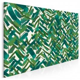 W zielonym gaju - nowoczesny obraz na płótnie - 120x80 cm