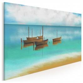 Za horyzont - nowoczesny obraz do salonu - 120x80 cm