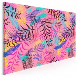 Palmiarnia - nowoczesny obraz na płótnie - 120x80 cm